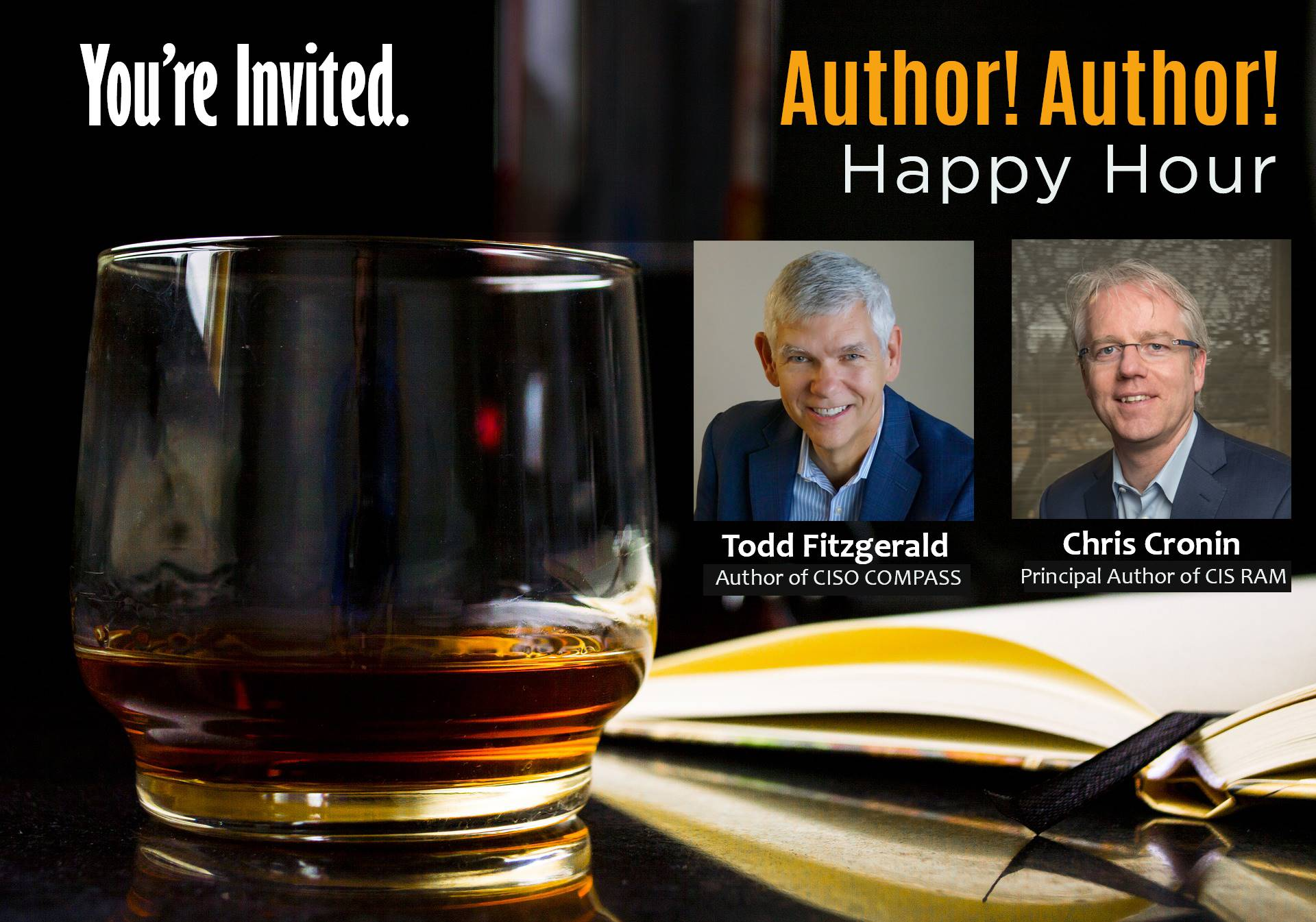 Author Author Happy Hour at RSA,