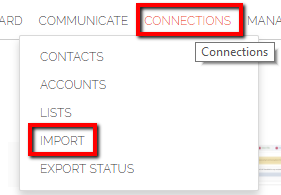 Connections Import